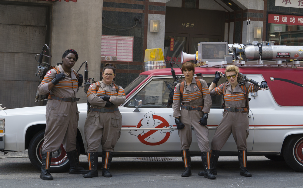 Ya'll ready for the new Ghostbusters!