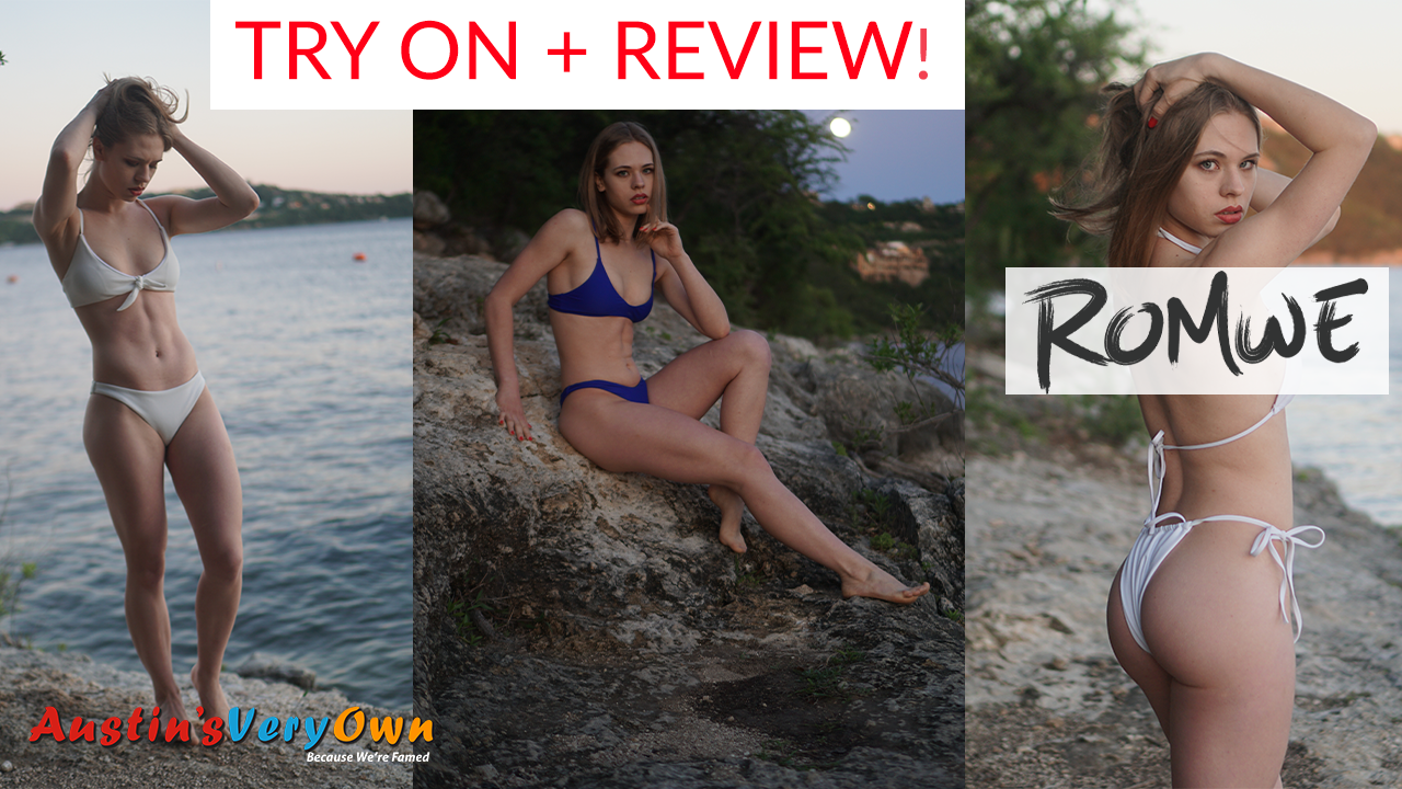 2019 Romwe Swimwear Try On Haul by Zosha