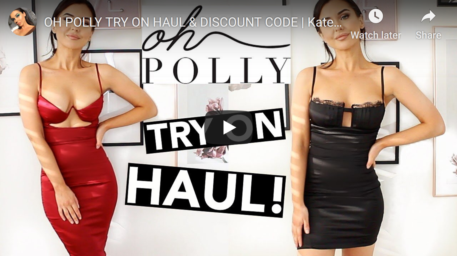 Oh Polly Try On Review by Katesbeautystation