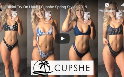 Cupshe Bikini Review by Shannon
