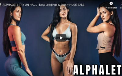 Alphalete Review & Try On by Britt