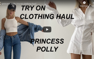 Princess Polly Try On Haul by Paige